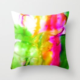 Abstract Bliss 5F by Kathy Morton Stanion Throw Pillow