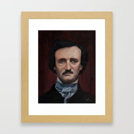 Edgar Allen Poe Framed Art Print