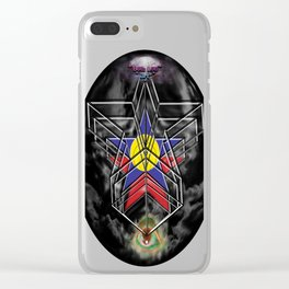 """Beez Lee Art : Wish Upon A Circle Star"" Clear iPhone Case"