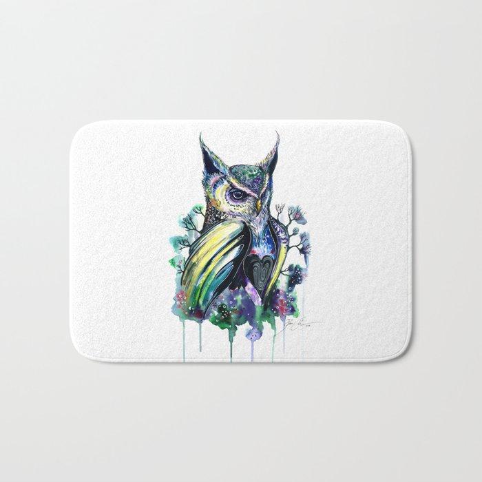 """""""owl"""" Bath Mat"""