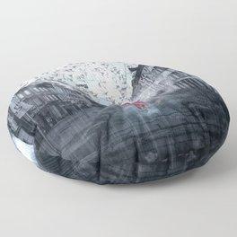 March Rain Floor Pillow