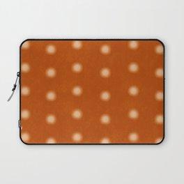 """Polka Dots Degraded & Orange Cream"" Laptop Sleeve"