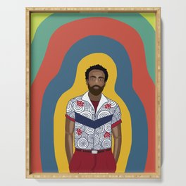 The One and Only Childish Gambino Serving Tray