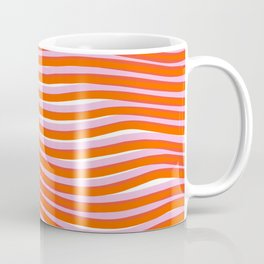 electric zebra stripes Coffee Mug
