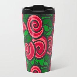 All red roses Travel Mug