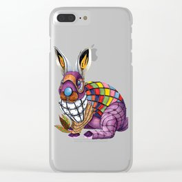 Steampunk Bunny Rabbit Clear iPhone Case
