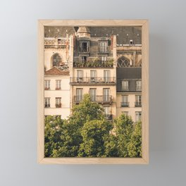 Sunny Paris Framed Mini Art Print