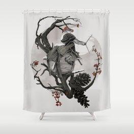 ÆFTERA YULE Shower Curtain