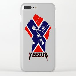yezus flag Clear iPhone Case