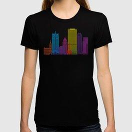 Milwaukee V2 skyline pop T-shirt