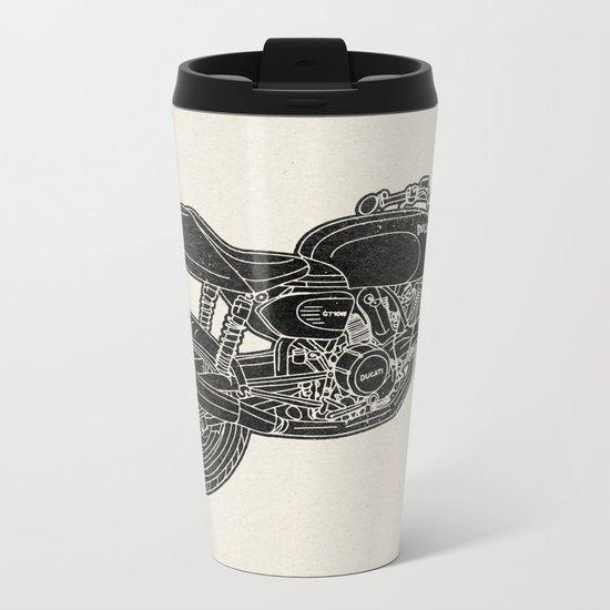 GT1000 Motorcycle Metal Travel Mug