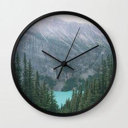 Lake Louise II Wall Clock