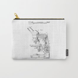 patent art microscope Carry-All Pouch