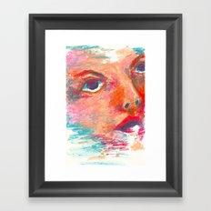 Color Swept Framed Art Print