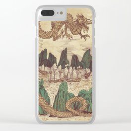The Halong Bay Creation Myth Clear iPhone Case