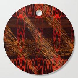 Autumn Tribal II Cutting Board