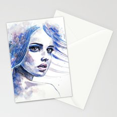What doesn't destroy me makes me stronger Stationery Cards