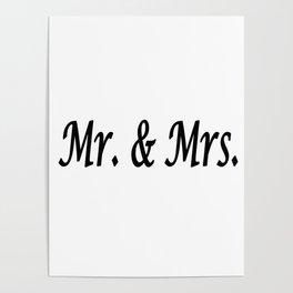 Mr. & Mrs. Poster