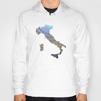 italy Hoodies featuring Italy by Isabel Moreno-Garcia