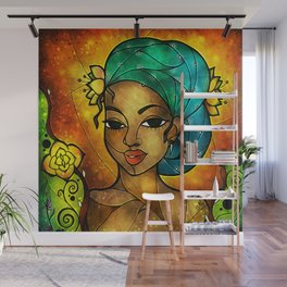 Lady Creole Wall Mural