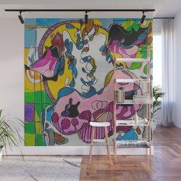 Bessie Psychodelic Wall Mural