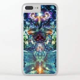 Mystery & Divinity Clear iPhone Case