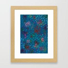 Primordial Sea Framed Art Print