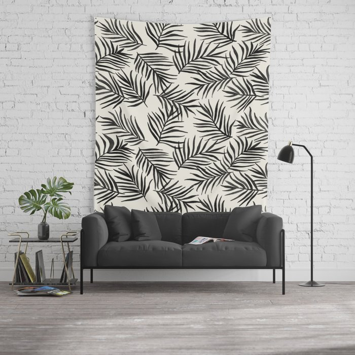 Pam Leaves Wall Tapestry