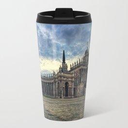 Neues Palais at dusk Travel Mug