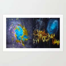 from The Long View Into Space Art Print