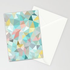 Pastel Tris Stationery Cards
