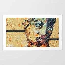 David Who?  Art Print