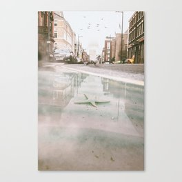 Starfish in the city by GEN Z Canvas Print
