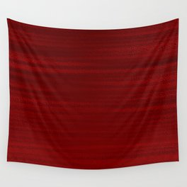 Absolute Red Wall Tapestry