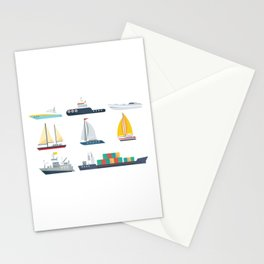 National Maritime Day Stationery Cards
