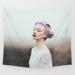 Cold and fog Wall Tapestry