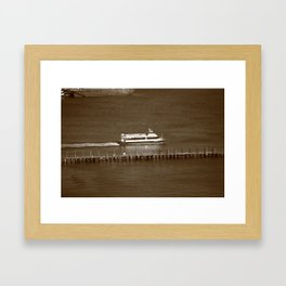 New York City Water Taxi 2012 Framed Art Print