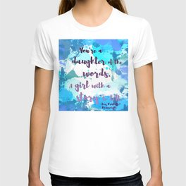 DAUGHTER OF WORDS | NEVERNIGHT BY JAY KRISTOFF T-shirt