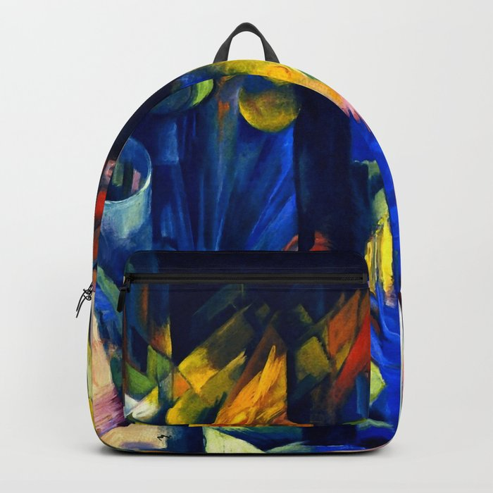 """Franz Marc """"Forest with squirrel"""" Backpack"""