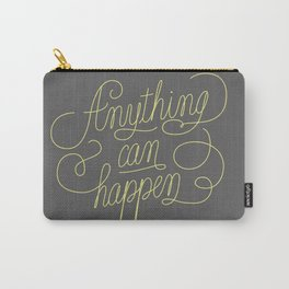 Anything Grey Carry-All Pouch