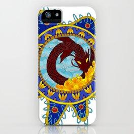Red Dragon Emblem iPhone Case