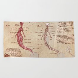 Anatomy of the Mermaid Beach Towel
