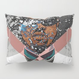 Hip Hop KanyeWest Compilation Minimal Abstract Pillow Sham