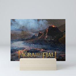 Fagradalsfjall - Iceland Eruption 2021 Mini Art Print