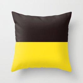 Cacao Banana Throw Pillow
