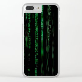 Code2 Clear iPhone Case