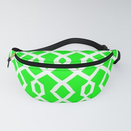 Grille No. 3 -- Lime Fanny Pack