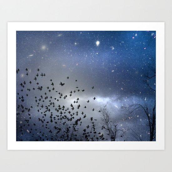 As Stars Collide Art Print