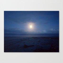 Westport by moonlight Canvas Print