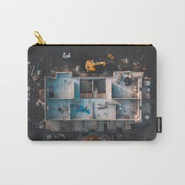 House Construction Carry-All Pouch